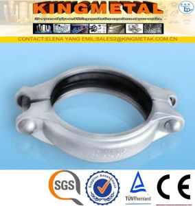 F304/316 Stainless Steel Pipe Grooved Coupling pictures & photos