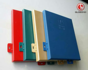 PVDF Solid Aluminium Panel for Curtain Wall (GL-005) pictures & photos
