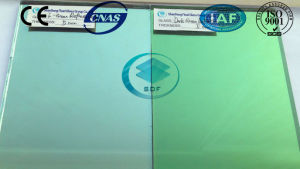 Green Reflective Glass with CE, ISO (4 TO 10mm)