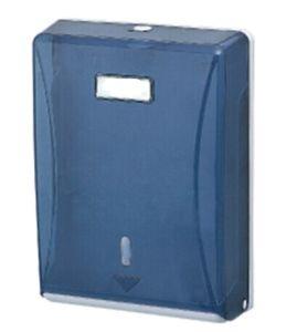 Dark Blue Decorative Fancy Public Wholesale Wall Mounted Plastic Kitchen Tissue Paper Roll Holder
