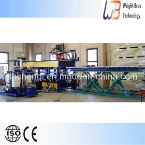 Discontinuous PU Sandwich Panel Production Line with Ce pictures & photos