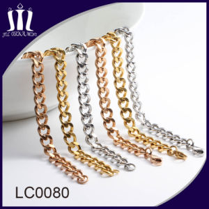 Wholesale Fashion Curb Gold Chain Necklace pictures & photos