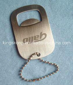 Hot Sell Stainless Steel Dog Tag Bottle Opener pictures & photos