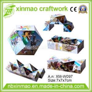 7cm Diamond Shape Magic Cube with Magnetic for Promo pictures & photos