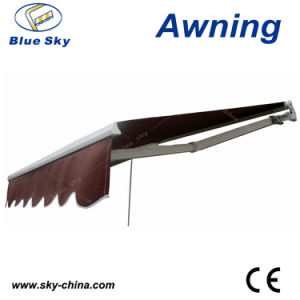 Outdoor Polyester Retractable Awning Canopy (B2100) pictures & photos