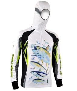 Quick-Drying Fishing Hoodies with Sublimation Printing pictures & photos