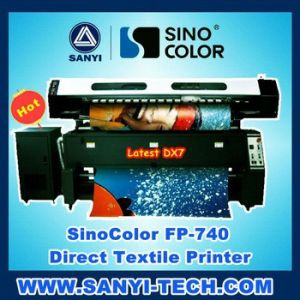 1.8m Fp-740 Digital Direct to Garment Printer, with Dual Epson Dx7 Heads, 1440dpi pictures & photos