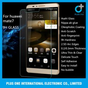 Competitive Price Tempered Glass Screen Protector for Huawei Mate7 pictures & photos