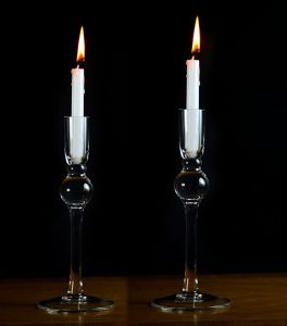 Wedding Decorative Tall Glass Candle Holder pictures & photos