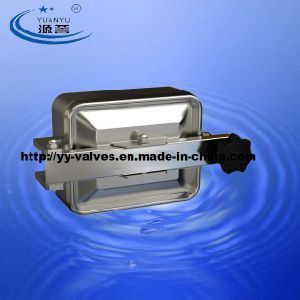 Stainless Steel Sanitary Square Manway pictures & photos