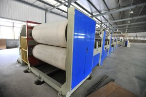 Card Paper Board Double Facer Corrugated Machine Manufacturer in China pictures & photos