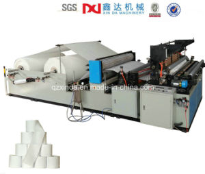 Full Automatic Rewinder Toilet Paper Making Machine Price pictures & photos