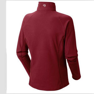 Women 1/2 Zip Red Plus Size Active Tops with Logo pictures & photos