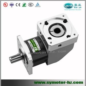 China planetary gearbox right angle square flange output for Planetary gearbox for servo motor