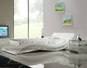 A044 Europe Sale Modern Double Bed pictures & photos
