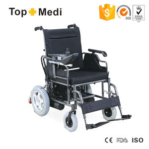 Topmedi High Loading Capacity Electric Wheelchairs for Disabled pictures & photos
