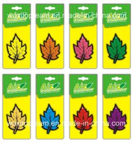 Maple Leaf Design Paper Car Air Freshener