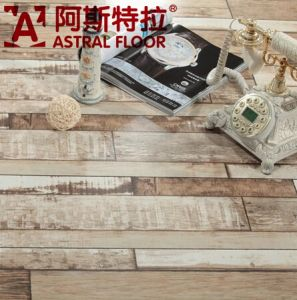2015 New Style HDF 12mm Registered Real Wood Texture Surface Laminate Flooring (AST46) pictures & photos
