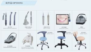 CE & ISO Msldu18h Leather Dental Unit Dental Chair Luxury Chair pictures & photos