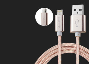 Factory Directly 2 in 1 Data Cable Flexible USB Multi Charger Data Cable for Android and Ios Cell Phone pictures & photos