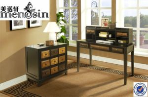 Wood Furniture Table Bookcase Writing Home Desk