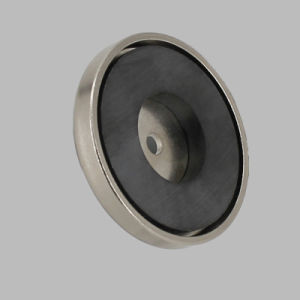 Plating Nickel Ceramic Round Base Magnet pictures & photos