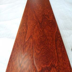 Foshan Indoor Usage Amber Color Prefinished Elm Engineered Wood Floor pictures & photos
