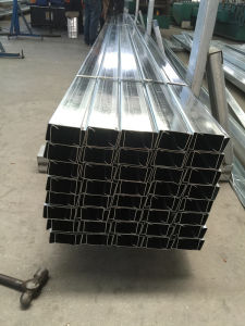 Q345 Galvanized C Section Roof Purlin pictures & photos