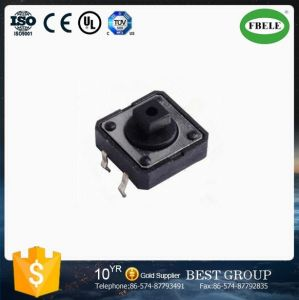 New Product Switch, Tactile Switch, 12*12 Tact Switch, 4 Pin Micro Push Button Square Stem Tactile Push Button Switch pictures & photos