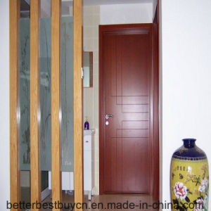 Fashion Model High Quality Timber MDF Wood Door pictures & photos