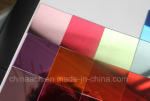 Silver Mirror Acrylic Sheet (Plexiglass sheet) /Single Surface / Double-Sided Mirror pictures & photos