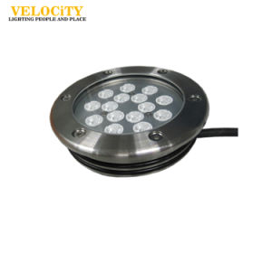 24V 15W/30W Multi Color Waterproof IP68 RGB LED Underwater Light for Pool pictures & photos