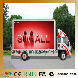 P6 Full Color Outdoor Advertising LED Video Display Moving Sign