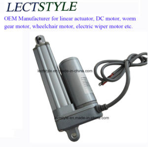 Heavy Duty DC 12V 6 Inch 88lbs Electric Linear Actuator Motor for Electric Massage Chair pictures & photos