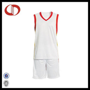 100% Polyester Quick Dry Man Basketball Uniform pictures & photos