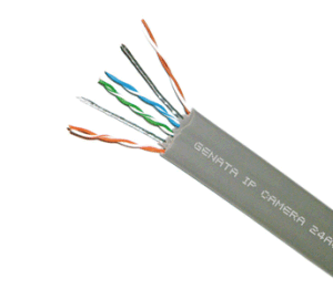100m Flat Cat. 5e Elevator Cable/Network Cables