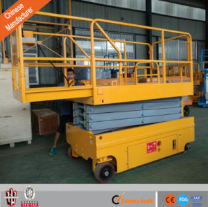 Automotive Self-Propelled Electric Scissor Lift Aerial Work Platform Price pictures & photos