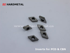 PCD Inserts Tungsten Carbide Substrate Inserts pictures & photos