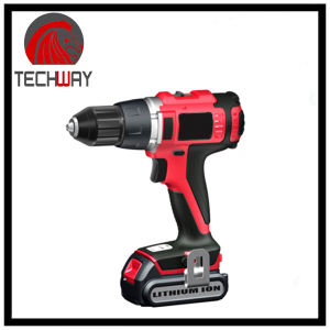 18V 1300mAh Lithium Professional Rechargeable Battery Drill Cordless Drill pictures & photos