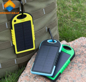 High Quality 8000mAh Solar Power Bank Solar Charger pictures & photos