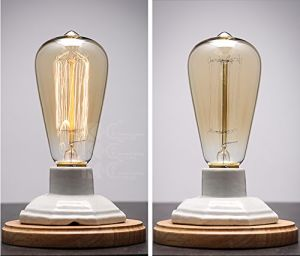 Edison Style Incandescent Lamp with Cable Hotel Style Lamps with Outlets pictures & photos