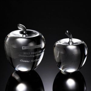 Smooth Apple Crystal Award (#52022, #52023) pictures & photos