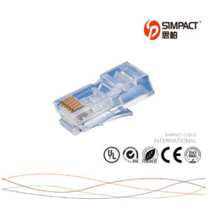 RoHS Certificated CAT6 Connector RJ45 pictures & photos