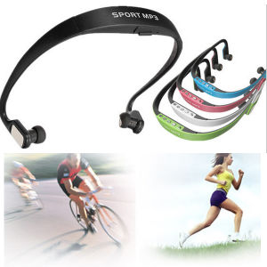 Wireless Sport FM Radio Headphone with MP3 Player pictures & photos