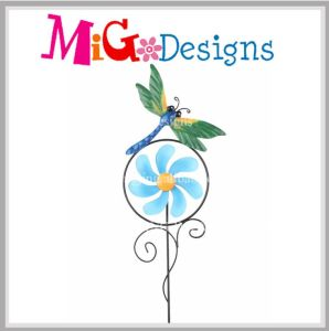 Wholesalecreative Butterfly Garden Idea Wind Spinner Stake Decor pictures & photos