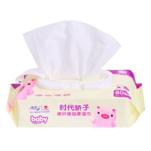 80 PCS Antibacterial Soft Cotton Wet Wipe Baby Wet Tissue pictures & photos