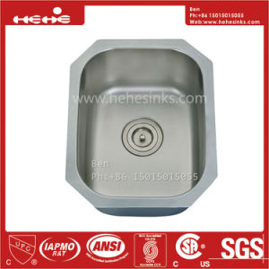 Stainless Steel Kitchen Sink, Steel Sink, Stainless Steel Single Basin Bar Sink pictures & photos