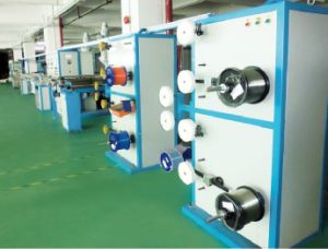 50 Simplex/Duplex Cable and FTTH Cable Extrusion Line (qf-50s) pictures & photos