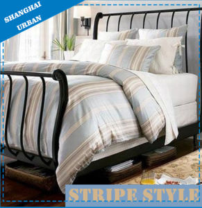 Cotton Duvet Cover Stripe Bedding pictures & photos