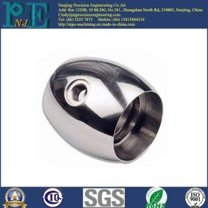 Precision Customized Ss316L CNC Machined Chrome Plating Parts pictures & photos